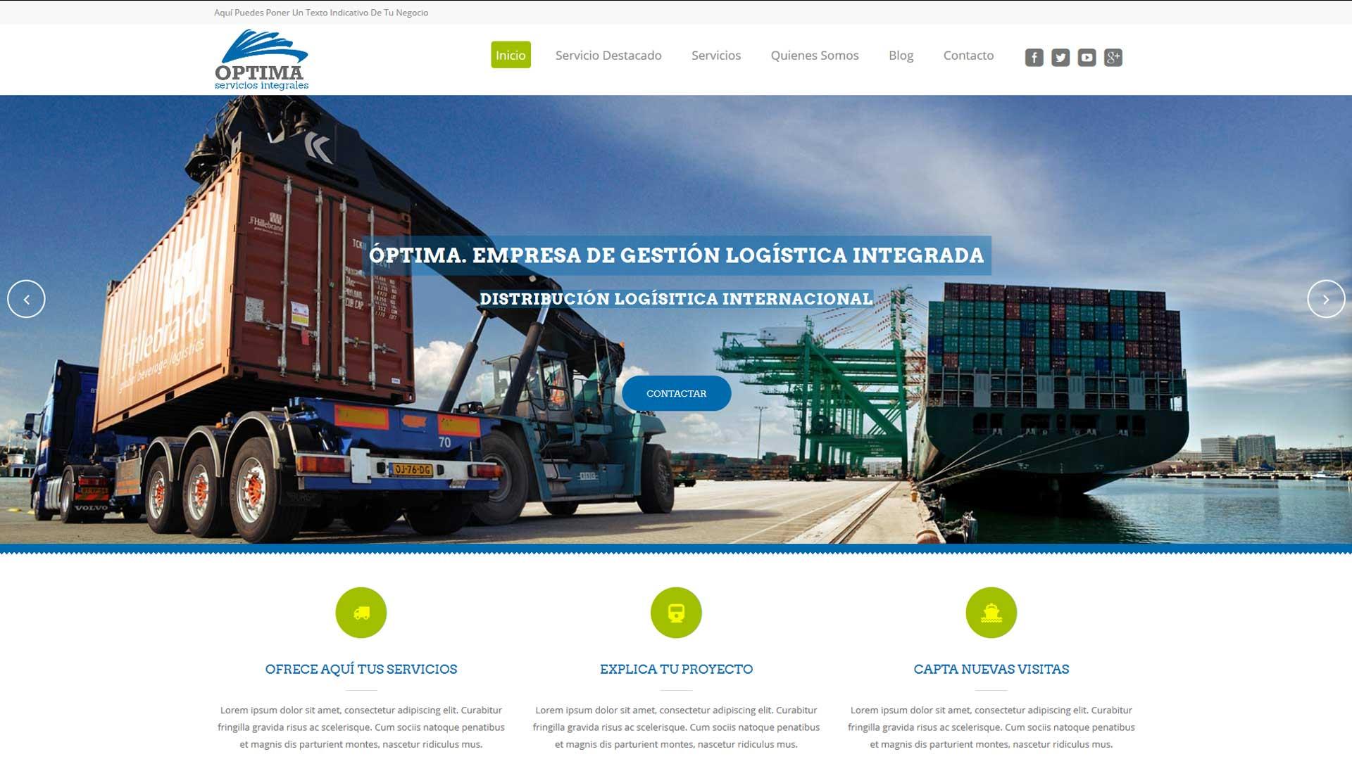 Páginas web económicas