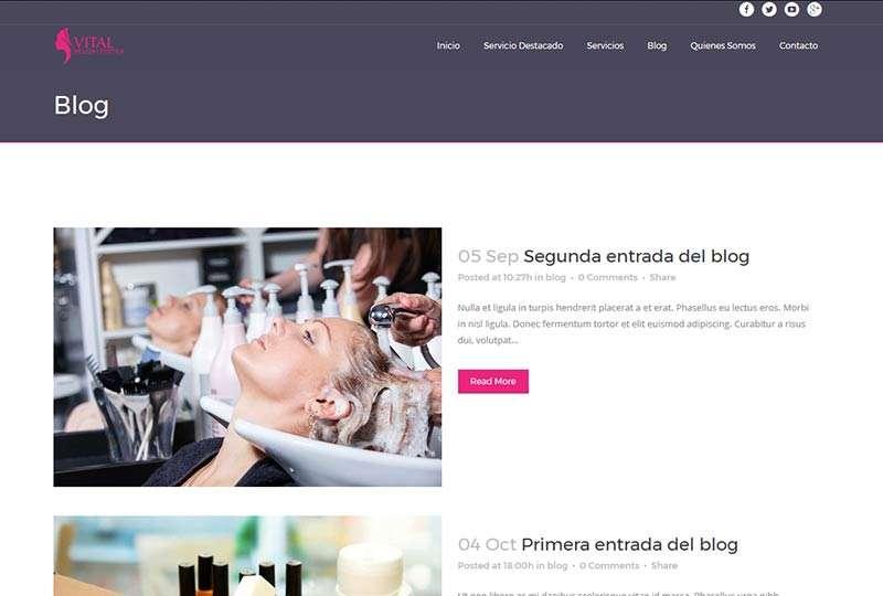 Modelo Madrid detalle página