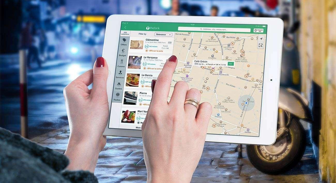 Apps de mapas. El Tenedor